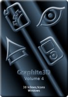 Graphite3D, Volume 4 - Windows by mulletrobz