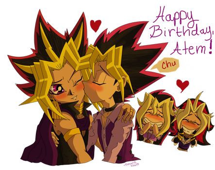 .::Happy Birthday Atem::. by Sonar15