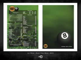alt Print : EIGHT POOL bar - Menu by ALTERNATIVE-CREATION