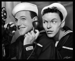 Anchors Aweigh: Kelly-Sinatra by DJCoulz