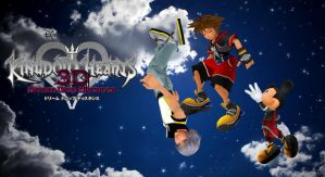 Kingdom Hearts Dream Drop By Distance by tifany1988