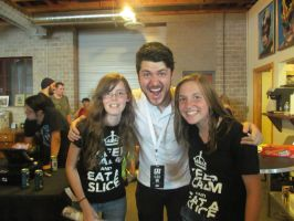 I met Olan Rogers! by blue-raindrop