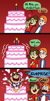 Let them eat cake- To Derek by ABwingz