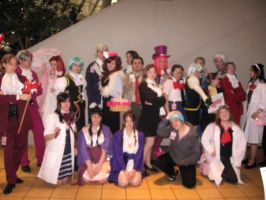 Phoenix Wright Group by stich76