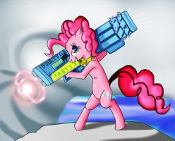 Pinkie pie party cannon 2.0 by DragonHeart-01