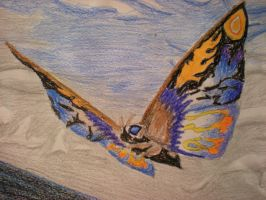 Rainbow Mothra by pink12301
