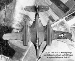 McDonnell XP-67B Jet Moonbat by Bispro