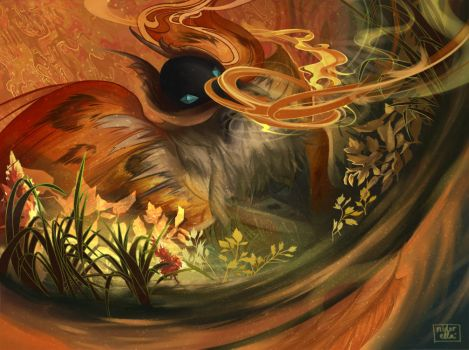 Pokemon: Volcarona by eirlude