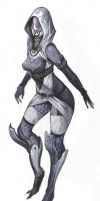 Tali'Zorah vas Normandy by masateru
