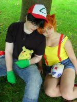 Pokemon - Two Drifters Off To See The World by EAMS81