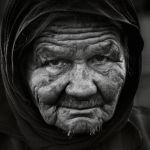 the lady in Vatos, B and W by VaggelisFragiadakis