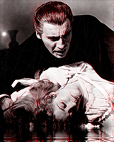 Dracula - Christopher Lee by DarkSaxeBleu