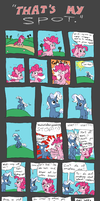 That's My Spot (Rough) by BrownieComicWriter