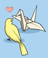Lovebirds by tomfonder