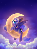 Cheese Moon by Ghst-qn