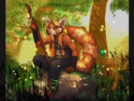 Topaz Day - Pandaren by frisket17