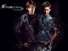 supernatural dean and sam by ahmetbroge