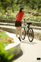 Good Weather For Biking... by RacoonFactory