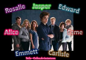 The Cullens by Bella---Cullen