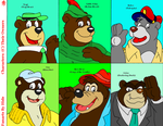Cartoon Bear Memes: 01-06 by TAKAhershey