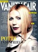 Vanity Fair December 2011, featuring Pepper Potts by nottonyharrison