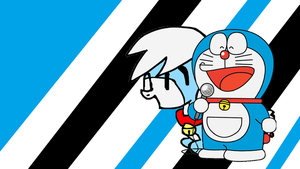 Doraemon and MLP Doraemon Wallpaper by Puppies567