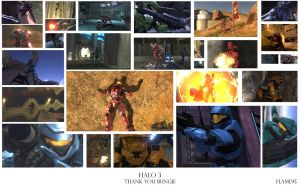 Halo 3 Photo Tribute by FlamingClaw
