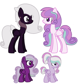 Nightengale and Lovely Heart Breeding (closed) by MichelleKyura