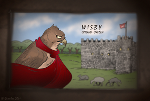Medieval postcard by Quomlon