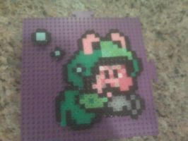 Mario Swimming Bead Sprite by WickedAwesomeMario81