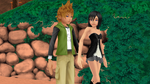Ventus and Xion Couple in Destiny Island Dream by 9029561