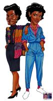 Vivian Banks and Clair Huxtable (2013) by RonAckins