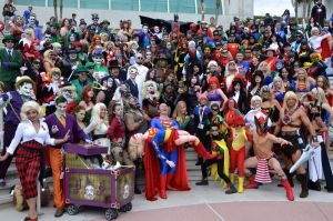 SDCC: DC Photo Shoot by FloresFabrications