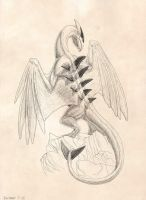 Lugia dries itself by Tacimur