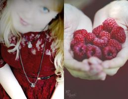 RED Self-Portrait IV by MiriamPeuser