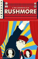 Rushmore poster by billpyle