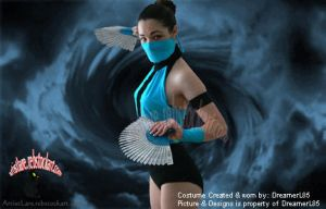 Kitana -Mortal Kombat by dreamerl85
