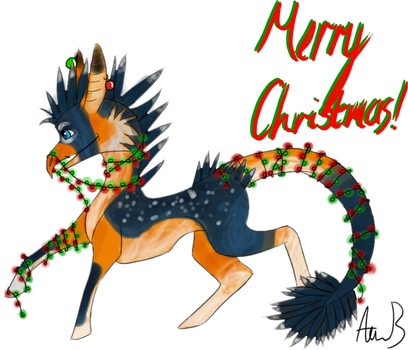 Merry Xmas Amadoodles by Stripedy-Sox