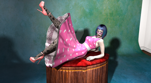 AICL - 2015 Valentine's Pinup 2 by jemstone