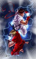 STREETFIGHTER TRIBUTE by deemonproductions