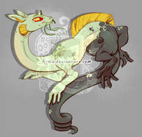 Water Dragon Adopt: OPEN by Kinla