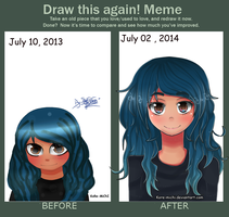 Meme  Before And After by KoRe-MiChI