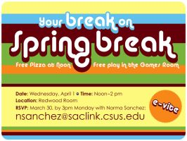 your break on spring break by kenji2030