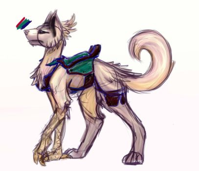 Laptop Cleanout - WolfChicken thingy by MyLilPegasister