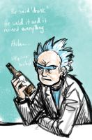 Rick And Morty Drunkhuh by jameson9101322