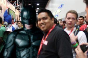 SDCC pic with Christian Bale by BobbyRubio