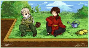 Growing Pains: Hetalia Collab by Yinakori