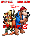 Brer Fox and Bear in Lethal Weapon 3 by RyanEchidnaSEAL