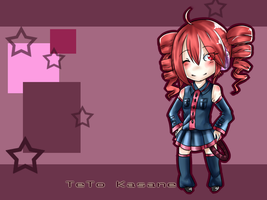 Teto Kasane Wallpaper by Pangoro-hime