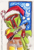 Boba Fett Xmas Hunter by Venikins
